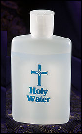 What is the origin of holy water?